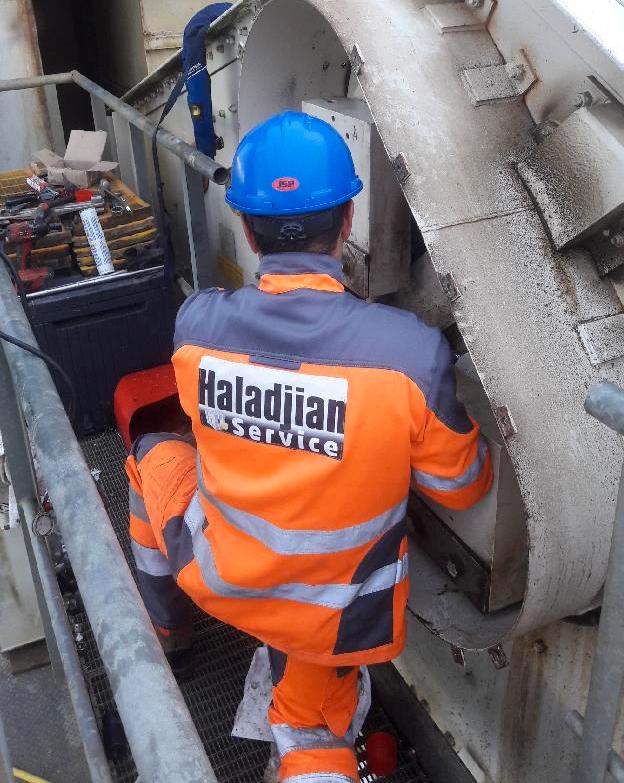 Mantenimiento y servicio para sus máquinas en canteras