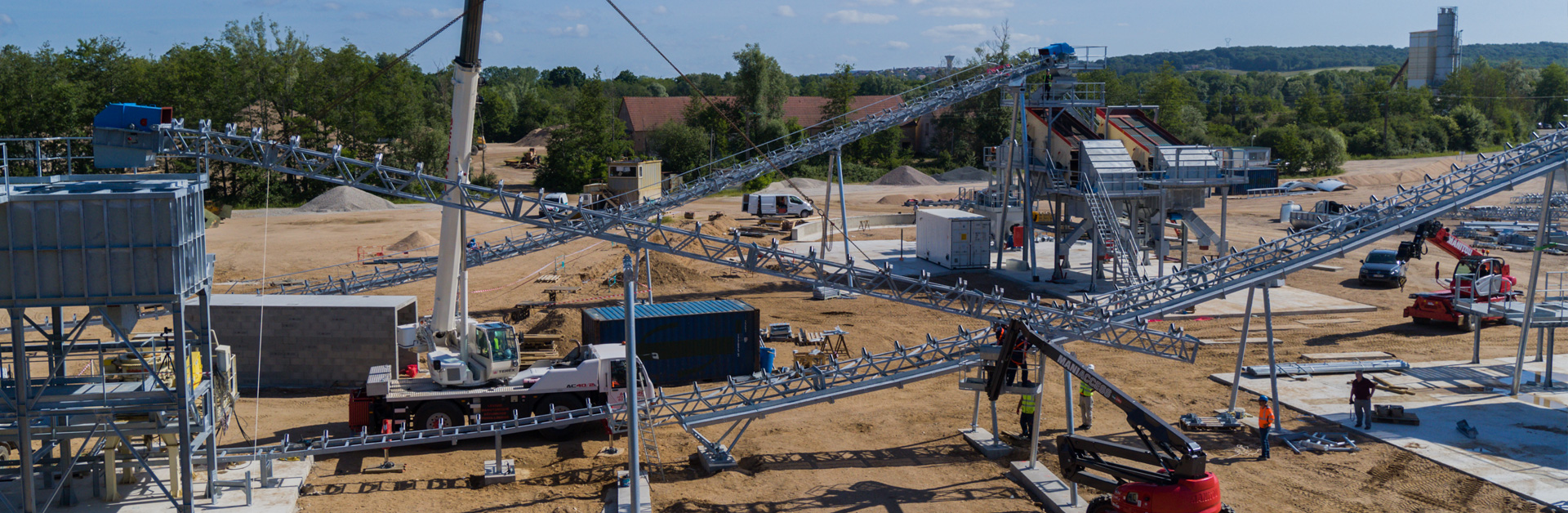 Conception Installations Fixes En Carrières