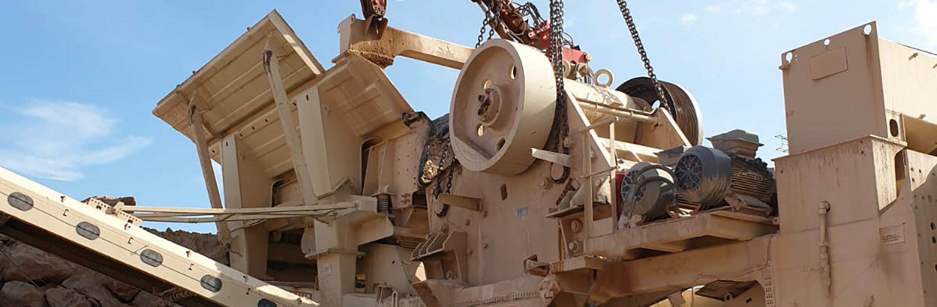 Rebuild Machine pour Installations En Carrieres