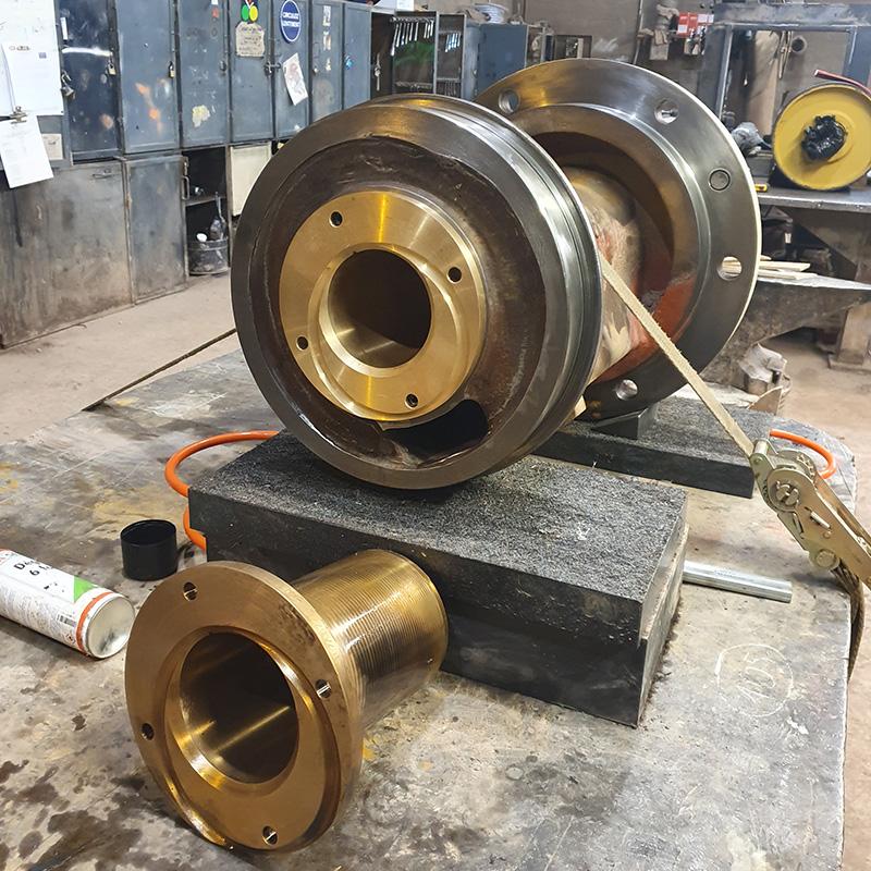 Reparation Broyeurs A Cone Hp400