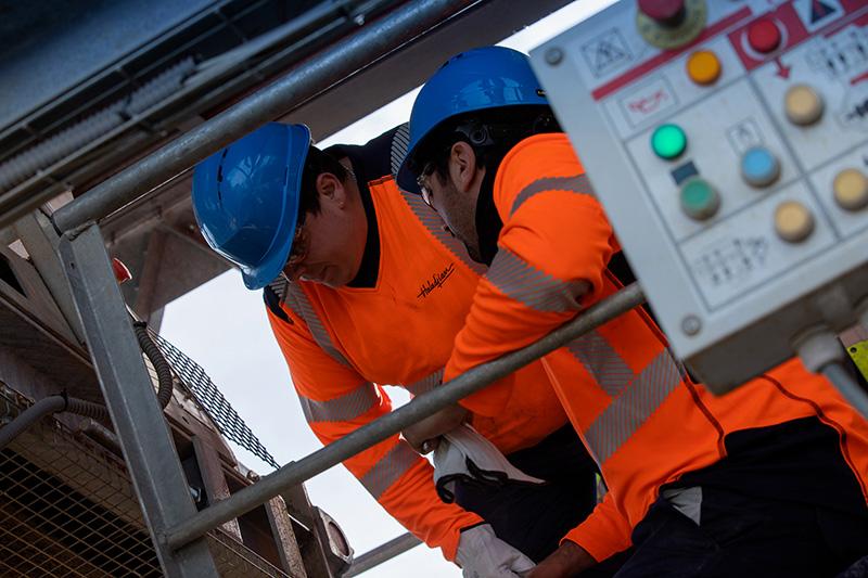 Savoir Faire de notre Maintenance Machine Production Granulats
