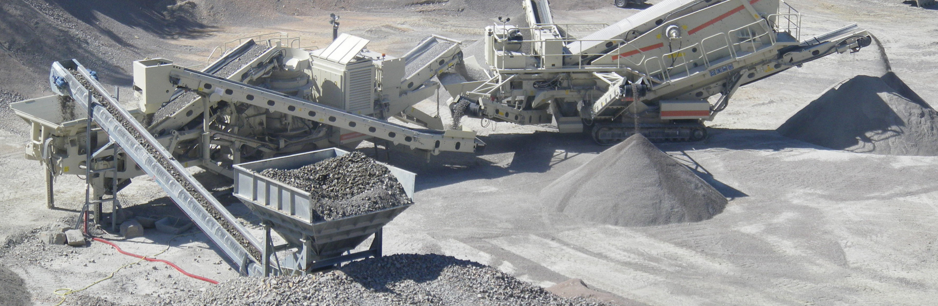 Process optimization in the crushing industry