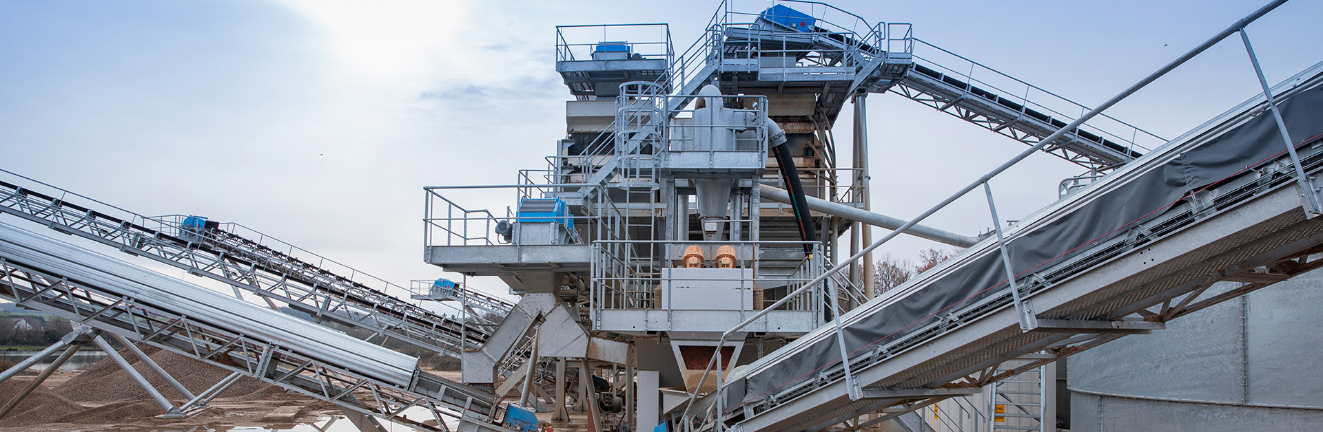 Design of fixed plant solutions for the aggregates industry