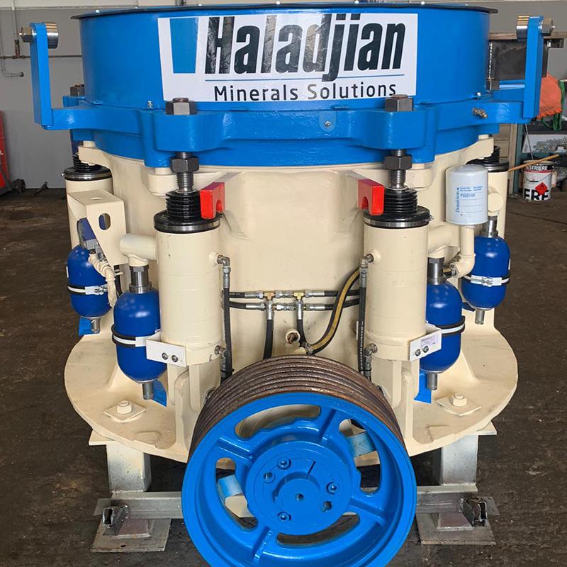 rebuild program of a crusher machine