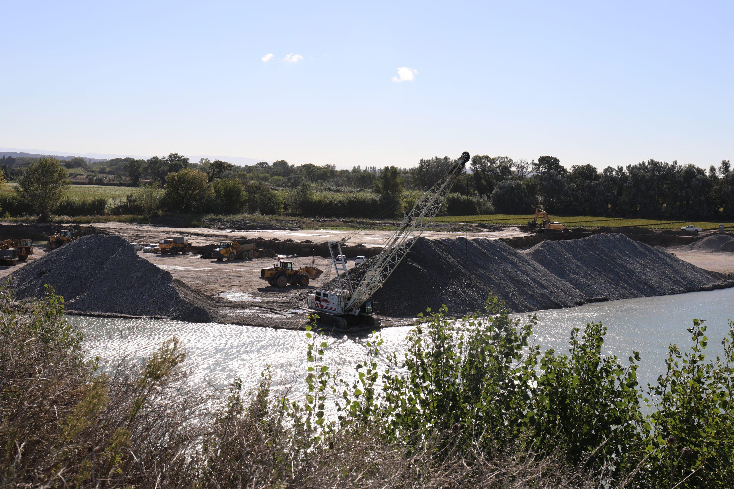 quarries aggregates alluvial